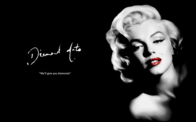 Marilyn with Quotes