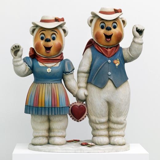 Jeff Koons - Winter Bears - 1988
